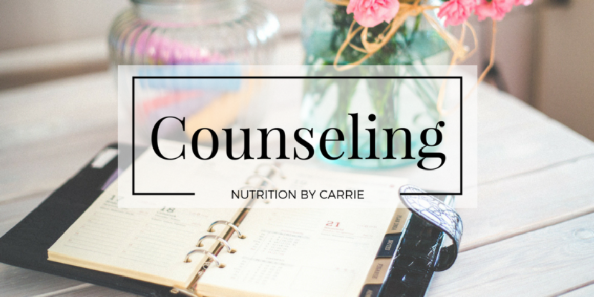 Carrie Dennett nutrition counseling