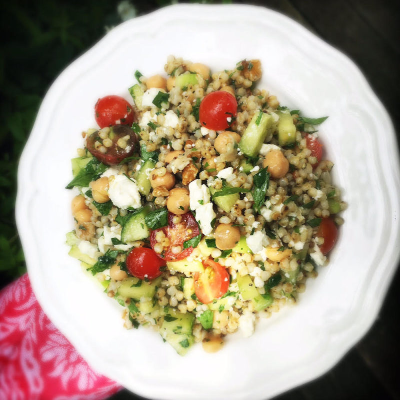 Mediterranean Sorghum Salad recipe