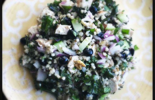 sorghum salad chicken