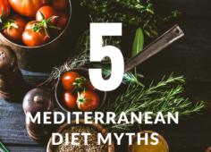 Mediterranean diet myths