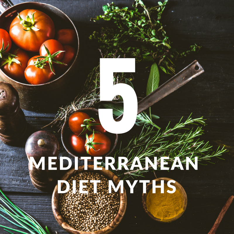Mediterranean diet myths